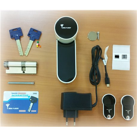 Kit Bronze serrure électronique connectée ENTR Mul-T-Lock