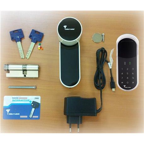 Kit Argent serrure électronique connectée ENTR Mul-T-Lock