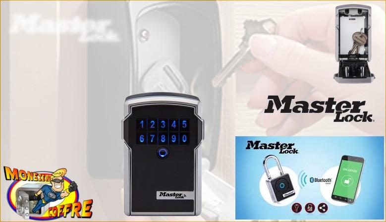 Rangement sécurisé boîte à clé bluetooth Select Access Master Lock